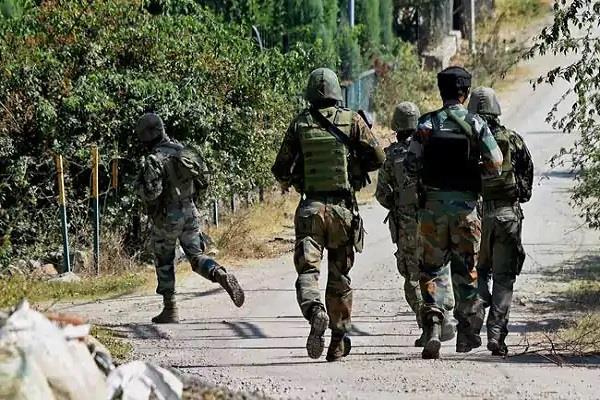 2 militants killed in landmine blast at loc