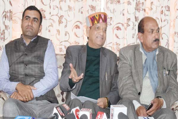 kishan kapoor target on congress chargesheet