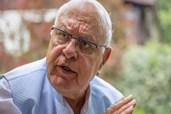 farooq abdullah s demand for early elections in the state