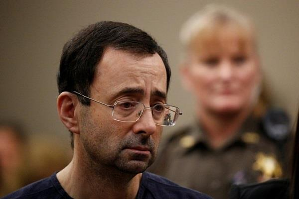 dr larry nassar facing at least 175 years in prison
