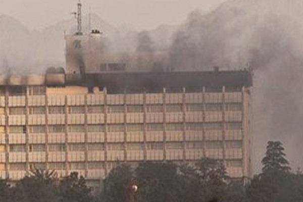 attack on kabul s famous intercontinental hotel
