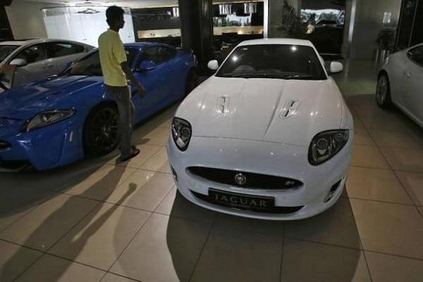 49  increase in jaguar land rover sales in india