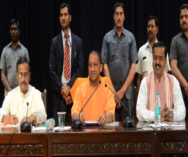 ministers of minorities welfare department of 9 states in lucknow today