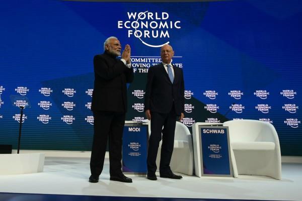biggest mistake in modi speech in davos