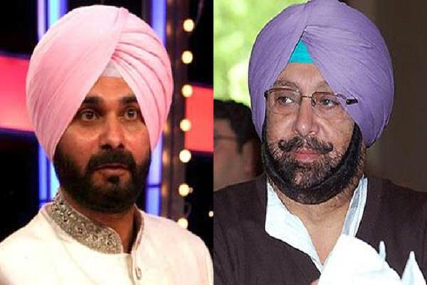 captain may have to shed navjot singh sidhu heavy