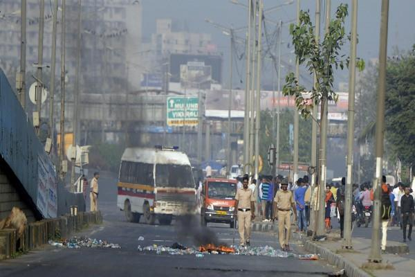 bhima koregaon violence school buses stay off roads mumbai