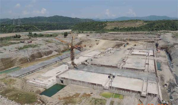 construction of shahpur kandi dam  despite the dispute being resolved