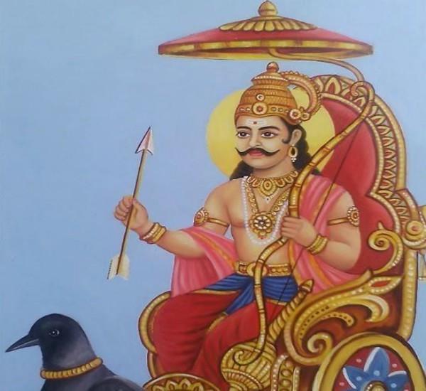 story of shanidev and vikramaditya in hindi