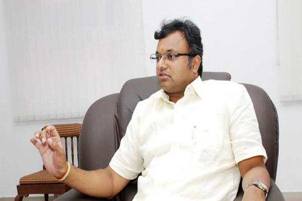 ed raids on karti chidambaram places in inx media case