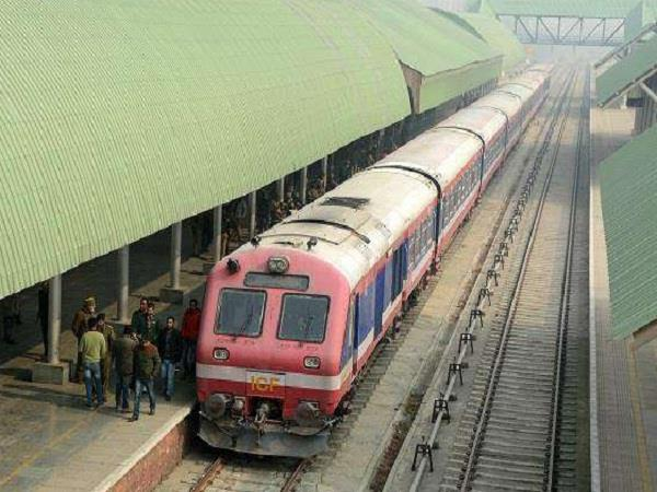 railway service restored after two days in south kashmir