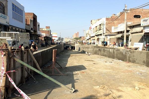 construction of dhanula underbridge