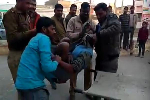 sp minister ram yadav on the killing blame