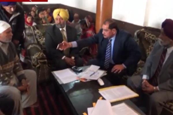justice ranjit probe commission to probe cases nawanshahr