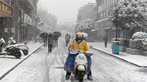at least 13 killed in heavy snowstorms in china