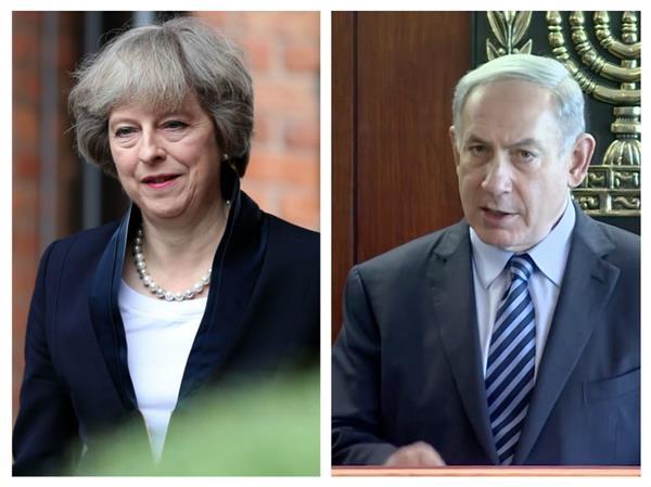 trump to meet netanyahu and may in davos