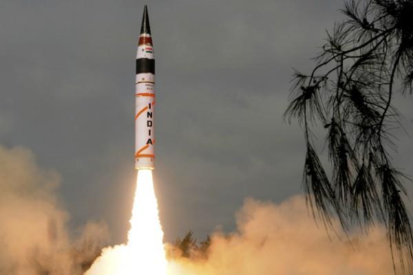 india successfully tested the agni 5 missile