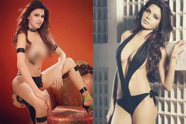 sherlyn chopra shared bold picture