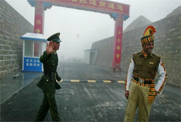 chinese soldiers enters indian border