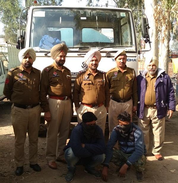 police arrest 2 accused