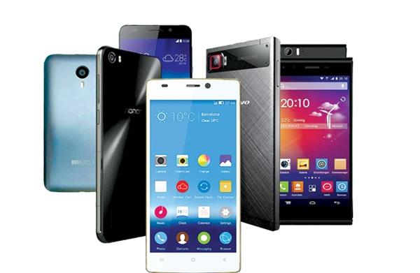 chinese smartphone sales by 4 percent