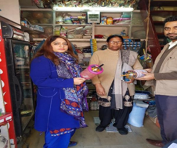 raid in chaina door shop