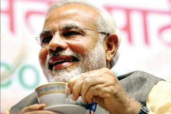 modi wanted desi tea in middle of conference