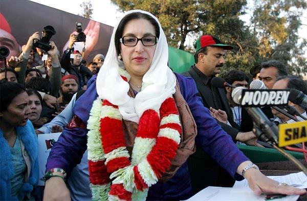 pakistan taliban claims it killed former pm benazir bhutto