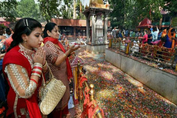 arrangements for the visit of sharda temple located at pok