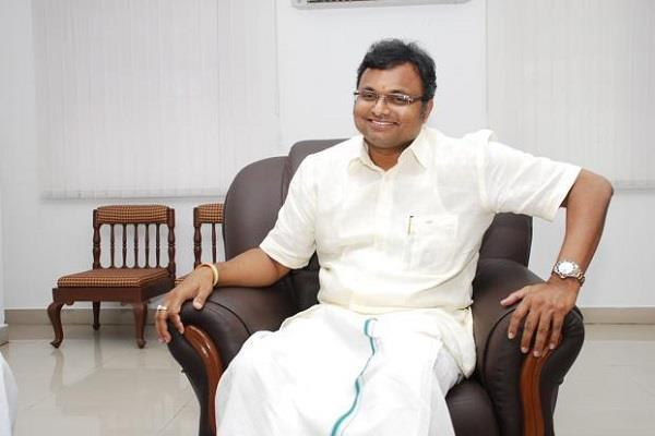 sc gave permission to karti to go abroad