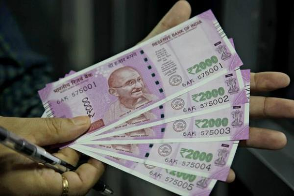 atm will be a shortage of 2000 rupee notes