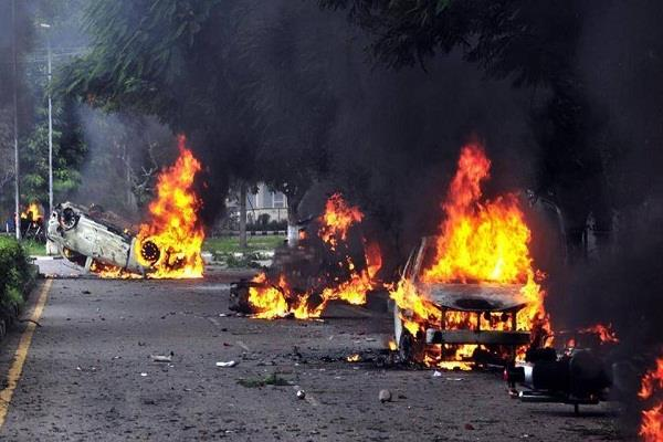 government fails to stop violence in panchkula