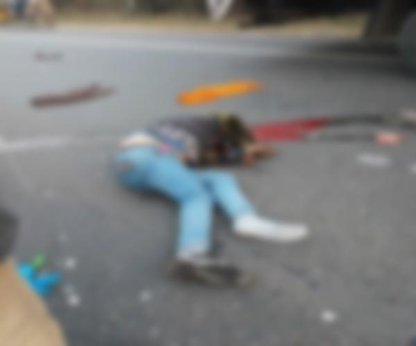 young man dead in road accident