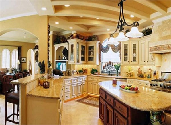 try to decorate the kitchen in an innovative way try these tips