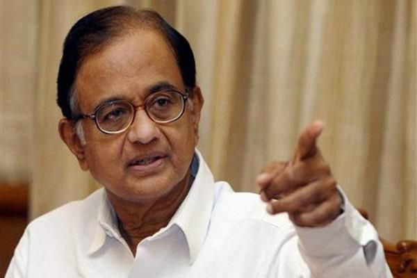 chidambaram said action taken under conspiracy