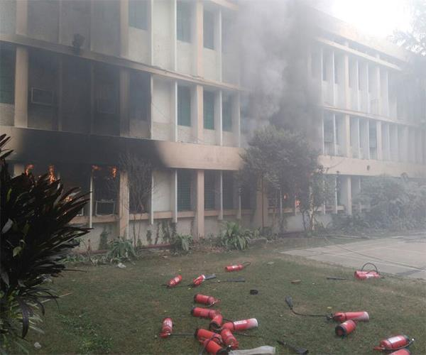 fire in brd medical college sp bsp told plot