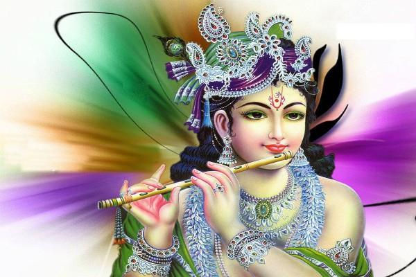 keep this in the worship of lord krishna prosperity will be doubled