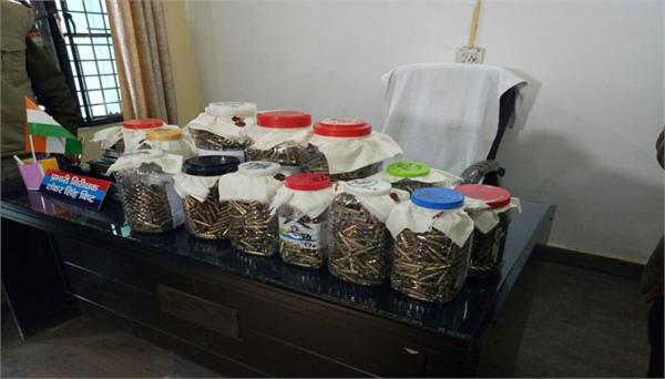 four arrested in dehradun with cartridges stolen from army