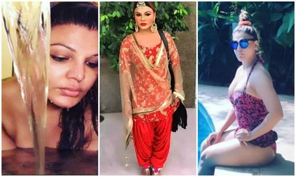 rakhi sawant punjabi look