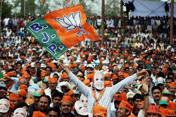 bjp cancell the letter pad of party workers