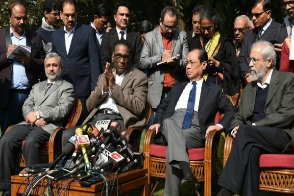 these are 4 judges who press conference against sc