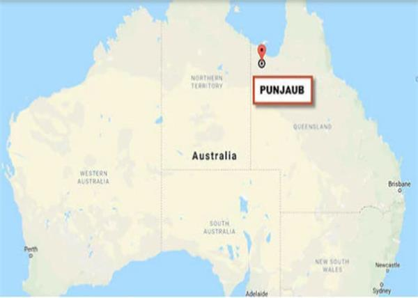 land of five rivers called punjaub found in australia