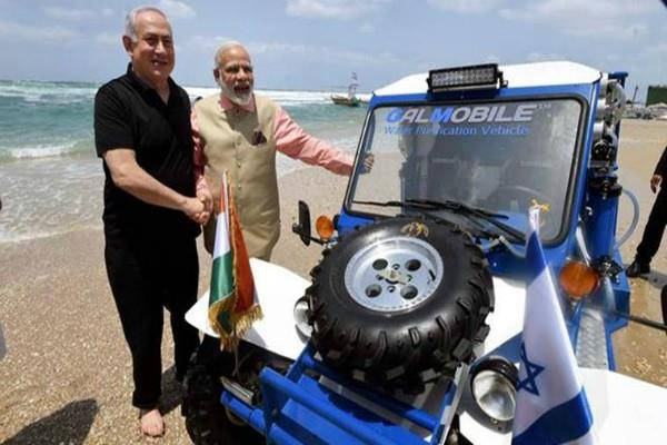 israeli prime minister will give special gift to modi