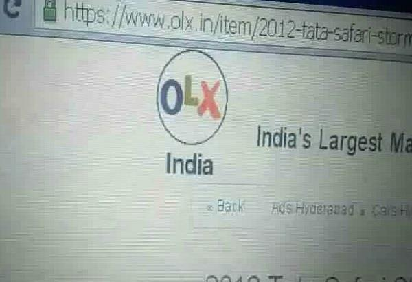 buying robbery through olx cheap car was offered