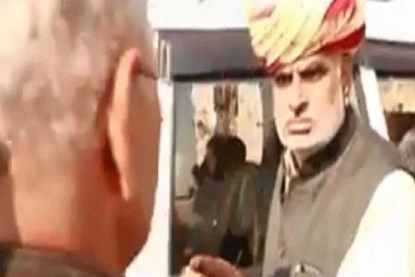 rajasthan  shrimadhopur  jhabar singh khrara  video viral
