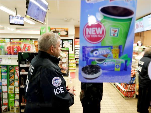us immigration raids on 7 eleven stores