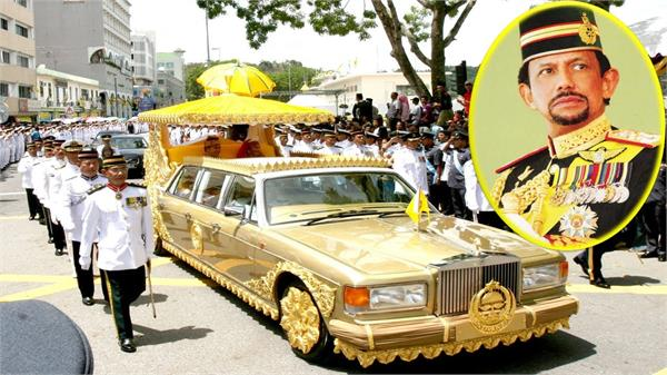 lavish lifestyle of sultan of brunei