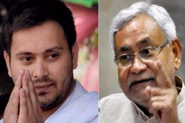 tweet of tejaswi after the attack on nitish kumar
