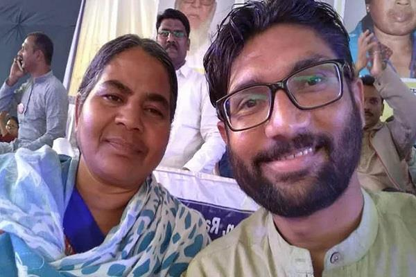 jignesh appeal to vemula mother