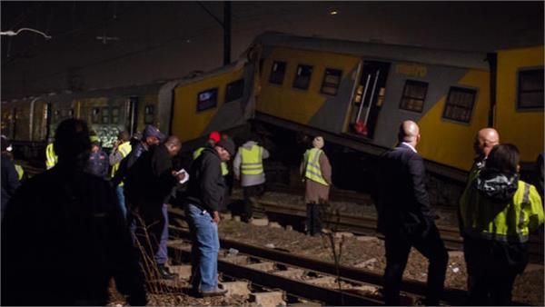 226 injured in  train crash outside johannesburg