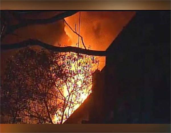 massive fire break at navrang studio